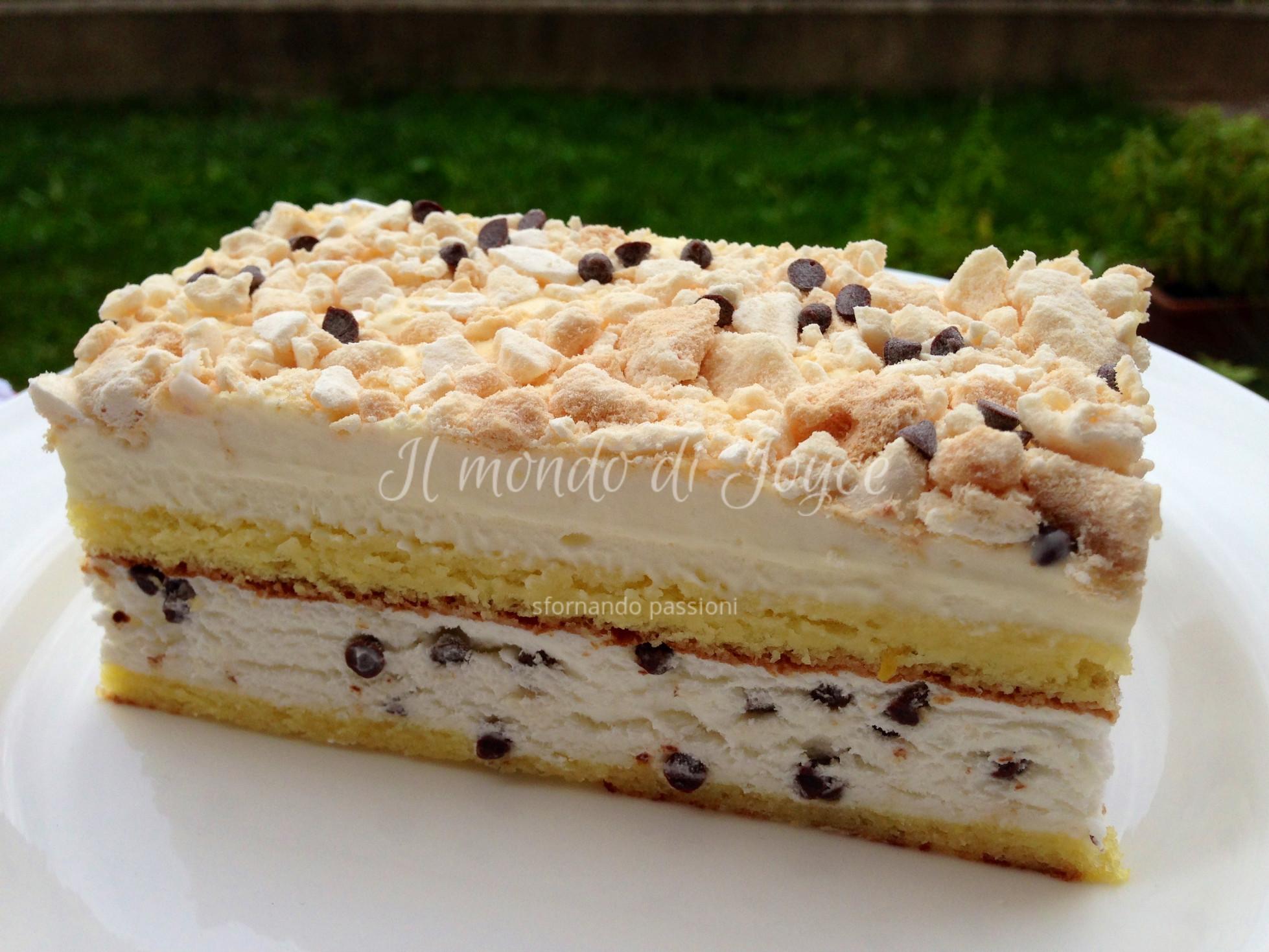 Ricetta torta meringata con pan di spagna ricette for Ricette italiane dolci